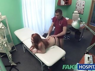 Faux clinic doc smashes a patient from behind porn video