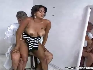 Indian mummy is getting humped in front of the camera and loving on all occasions single 2nd of it