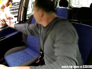 CZECH BITCH - Real WHORE Get Paid be advantageous to Sex between Trucks
