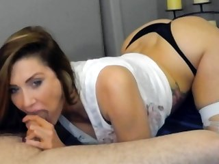 Lewd Amateur Wanking Cock With Smalls On