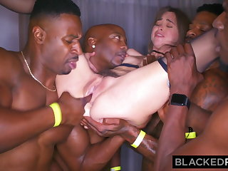 BLACKEDRAW My girlfriend got gangbanged at the chip party