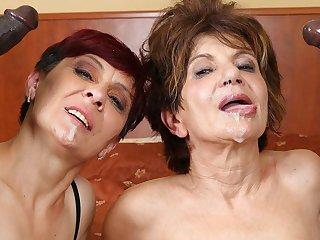 Grannies Hardcore Fucked Interracial Porn with Elderly Women sexual intercourse