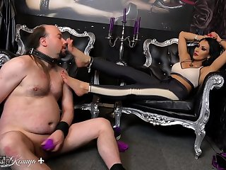 Fetish Femdom Horny Woman Enjoying Cruel Fetish Sex