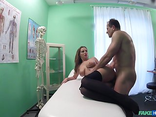 Hot patient Candy Alexa wanted to be fucked by her horny falsify