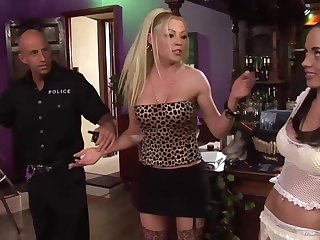 Anaya and Cindy got down and dirty with a police officer and had an amazing threesome