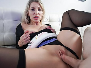 PervMom - Heavy Ass MILF Cheating Upon StepSon