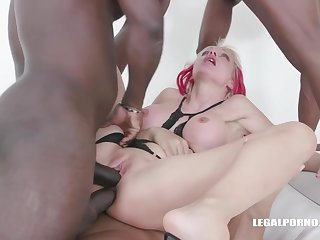 Cindy Sun is not at the end of one's tether any stretch of the imagination a fucking machine even in front getting gangbanged at the end of one's tether a group of gloomy guys