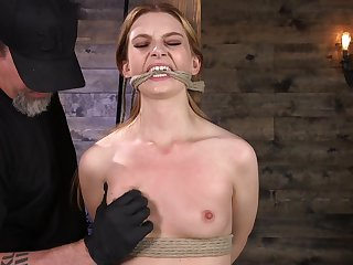 Amateur girl Maya Kendrick looked-for to be tied adjacent to added to tortured