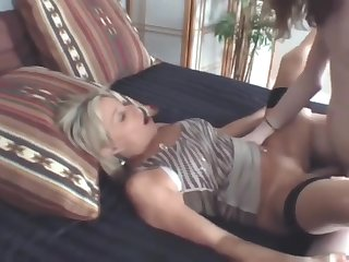 Skinny 20yo Dude With Unreal Beamy Dick Fucks Hard Lonely Mature Cougar Milf